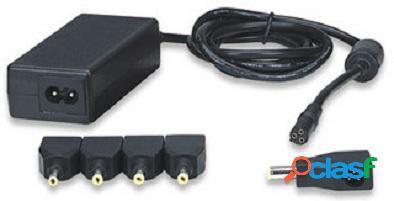 Manhattan cargador universal para mini laptop, 40w