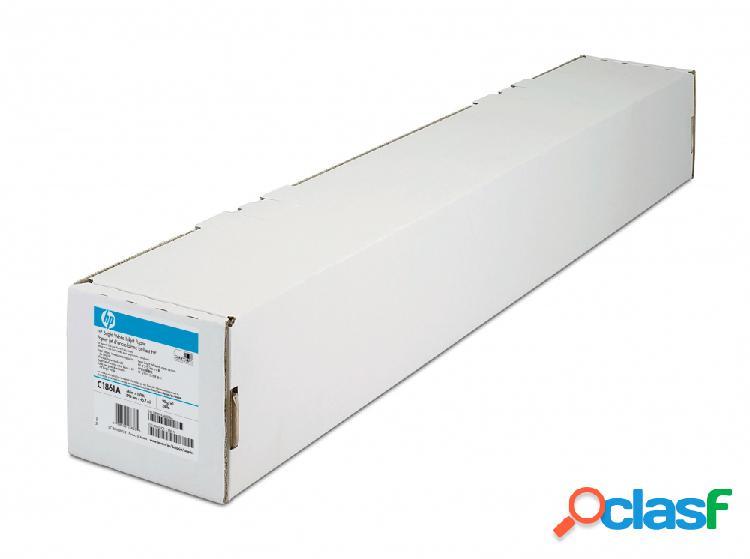 Hp papel brigth white para inyección de tinta 90g/m², 914mm x 91.4m