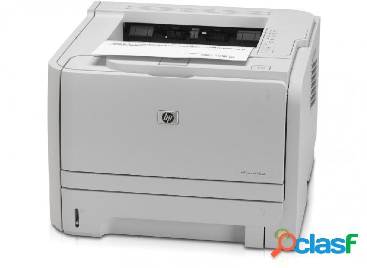 Hp laserjet p2035, blanco y negro, láser, print