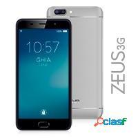 Smartphone ghia zeus 5.5'', 1280x720 pixeles, 3g, android 7.0, gris