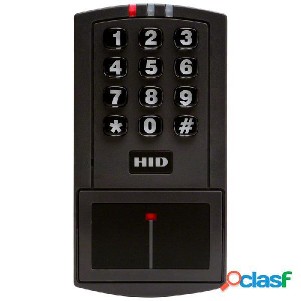 Hid lector de tarjeta con teclado entryprox, rs-232, 1000 usuarios