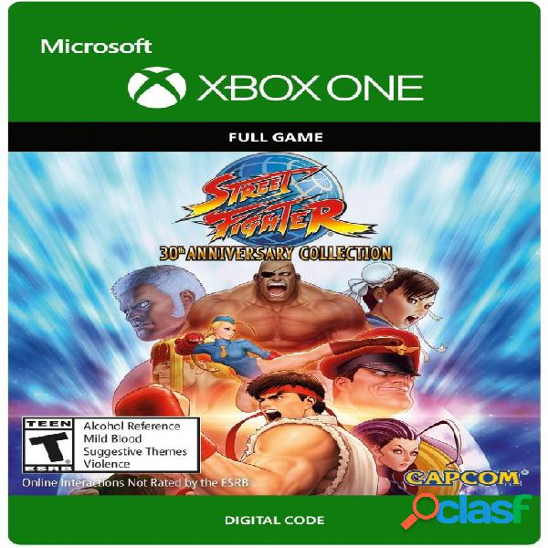 Street fighter: 30th anniversary collection, xbox one - producto digital descargable
