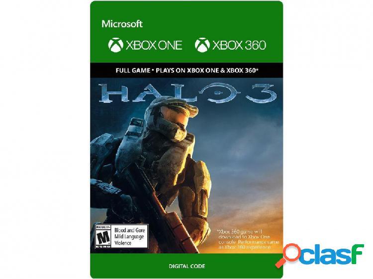 Halo 3, xbox one - producto digital descargable