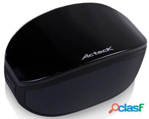 Acteck sistema de audio óvalo fx-400, bluetooth 4.0, 2.0, negro
