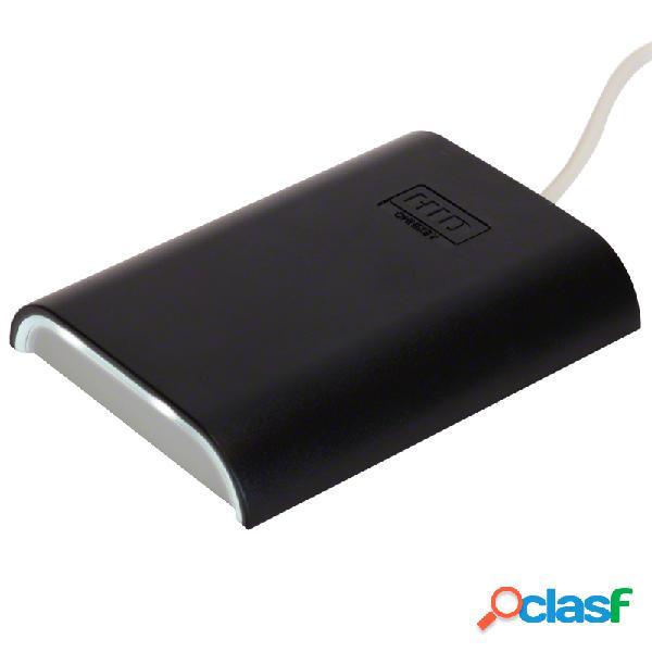 Hid lector de tarjeta sin contacto omnikey 5427ck, bluetooth, usb 2.0, negro/gris