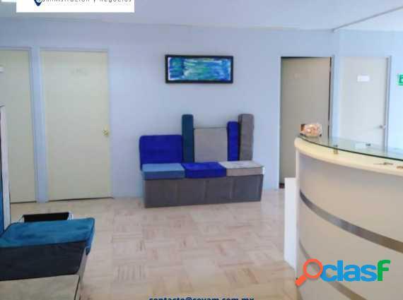 Oficinas en renta con servicio de recepción en tlalnepantla