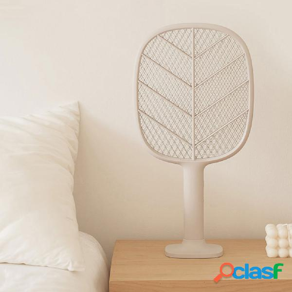 Raqueta eléctrica para mosquitos solove p2 usb recargable mosquito killer hand killer fly killer swatter home garden producto