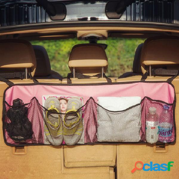 Coche almacenamiento en baúl bolsa almacenamiento bolsa multifunción coche almacenamiento bolsa respaldo del asiento bolsa