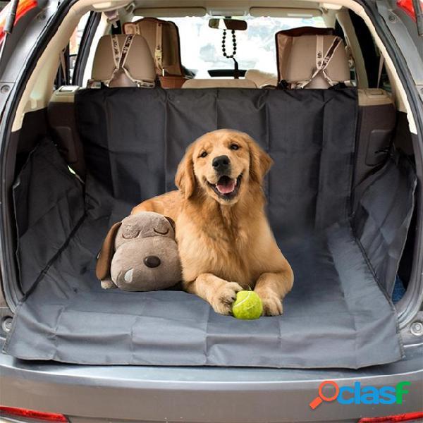 Perro maletero carga forro - protector de maletero para perros - alfombrilla de maletero para mascotas para suv - protector de asiento coche - resistente y cubierta de maletero impermeable