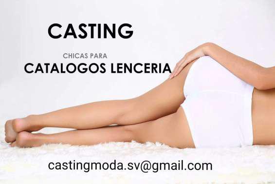 Casting Moda Lencería