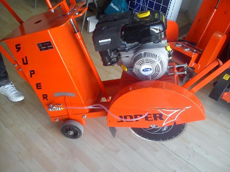 Cortadora de concreto joper con motor 9 hp: ecomaqmx
