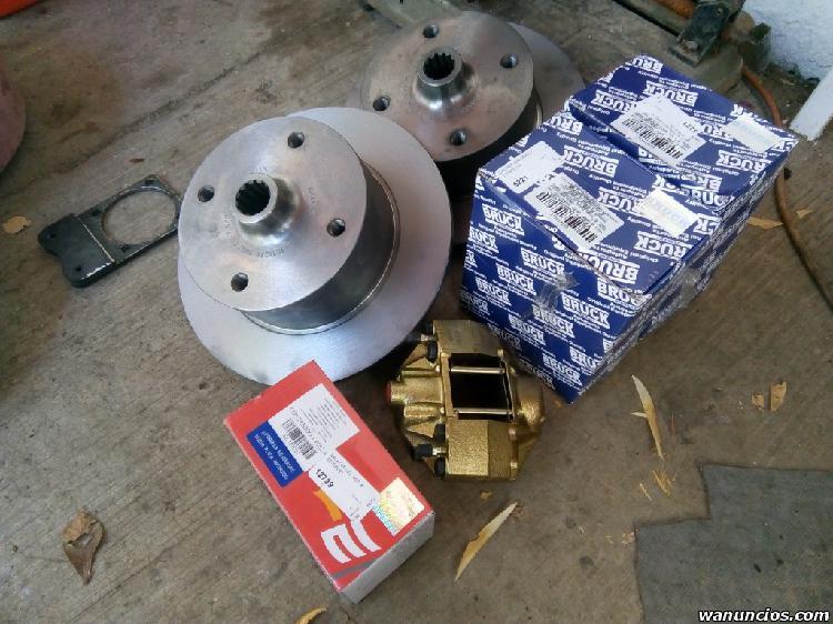 Kit frenos de disco para vocho