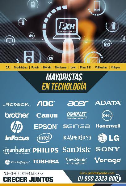 Pch mayoreomayoristas en tecnología.