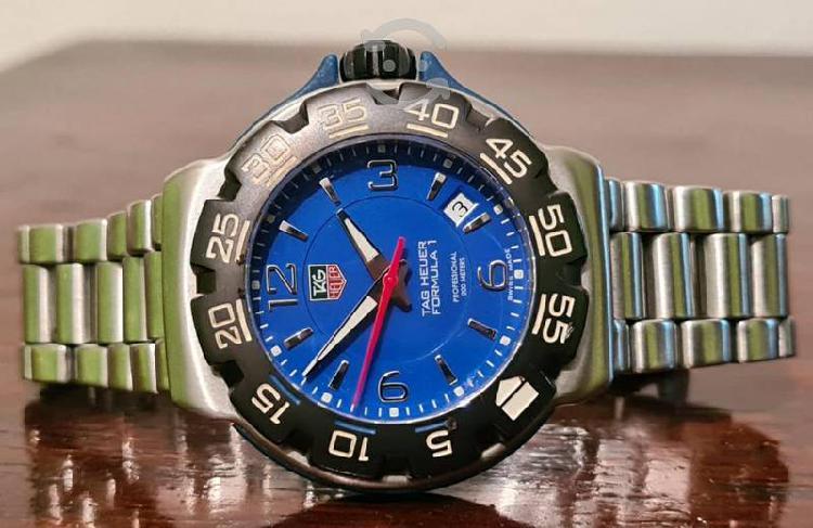 Reloj tag heuer f1 edicion especial tono azul v/c