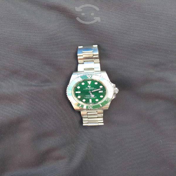 Reloj acero rolex