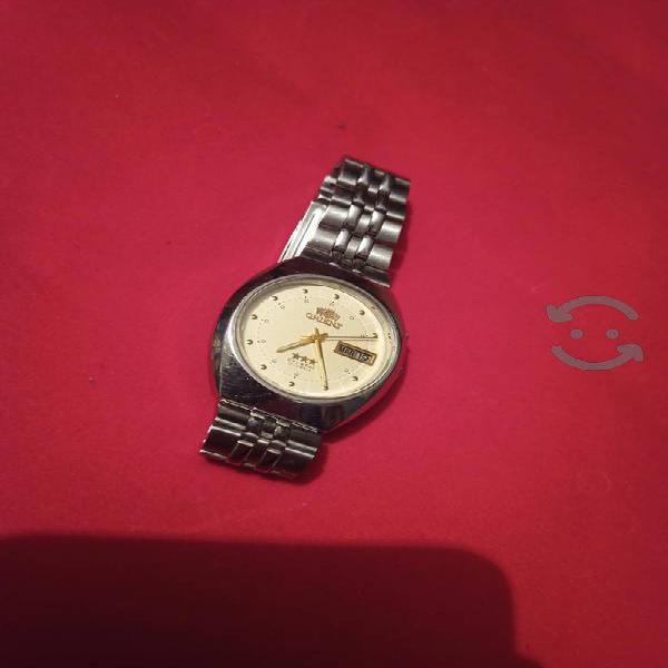 Reloj orient Crystal 3 estrellas automático