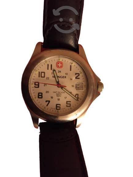 Reloj para caballero wenger, diseño smt, suizo