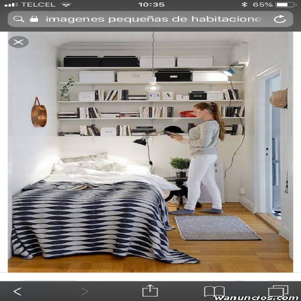Rento habitaciones individuales en departamento en villa
