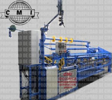 Maquinaria y tejedoras para malla ciclonica,malla