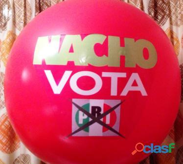 PELOTAS PARA CAMPAÑAS POLITICAS