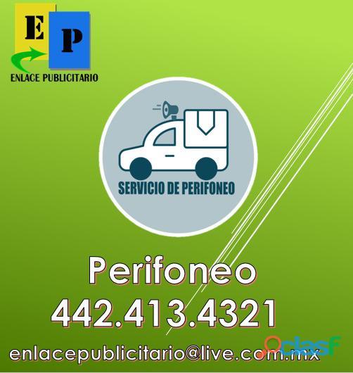 SERVICIO DE PERIFONEO