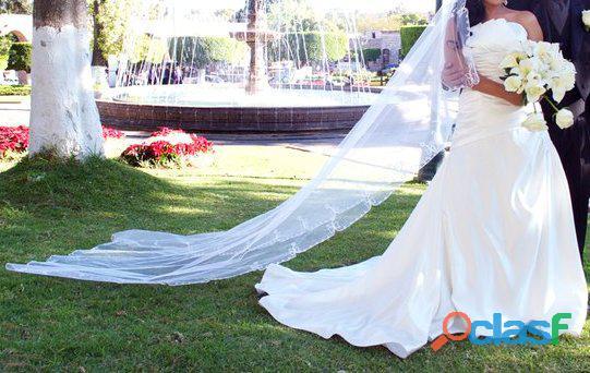 Hermoso vestido de novia marca Sposa Alta Costura
