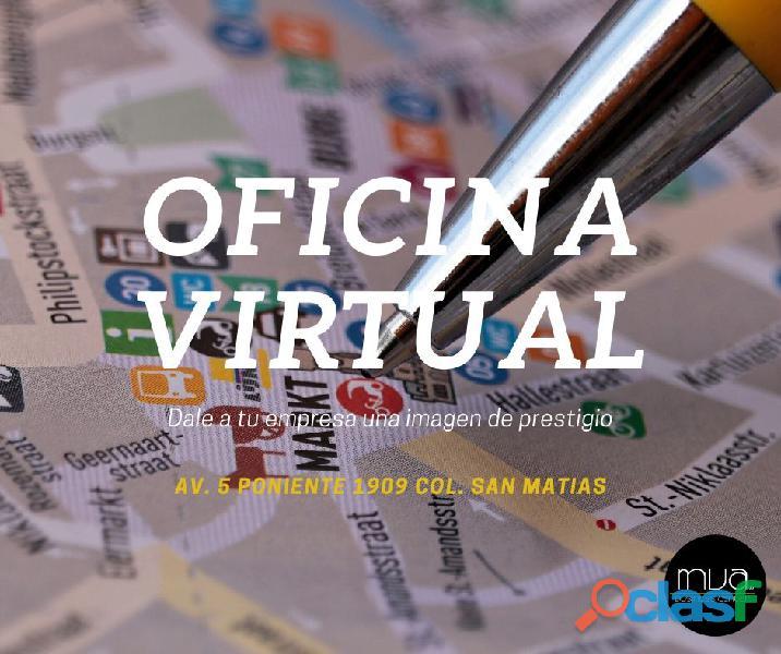 Oficinas virtuales en renta con domicilio fiscal