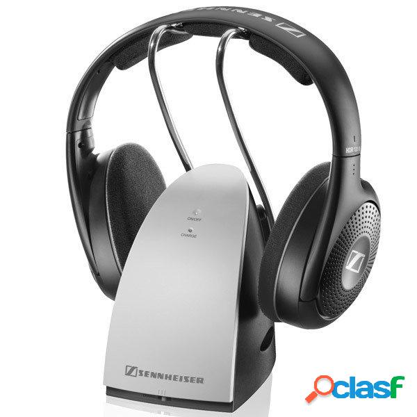 Sennheiser audífonos rs 120 ii, inalámbrico, radiofrecuencia, negro