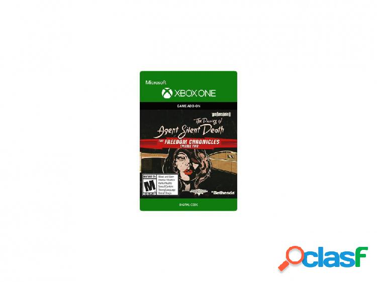 Wolfenstein ii: the diaries of agent silent death, dlc, xbox one - producto digital descargable