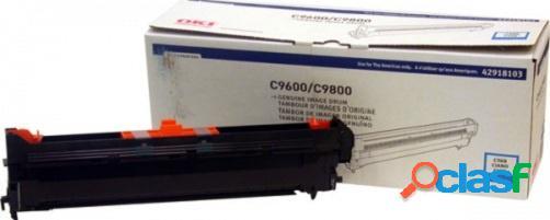Tambor okidata tipo c7 cyan, 42.000 páginas