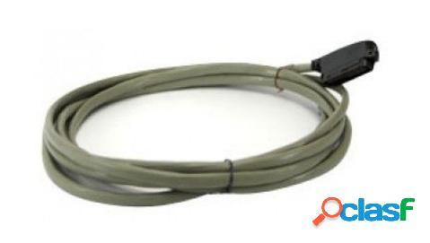 Panasonic cable amphenol macho, 3 metros, gris