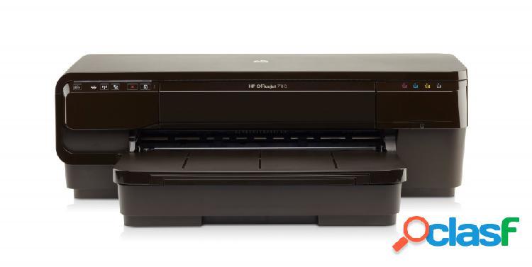 Hp officejet 7110 de formato ancho, color, inyección, inalámbrico, print