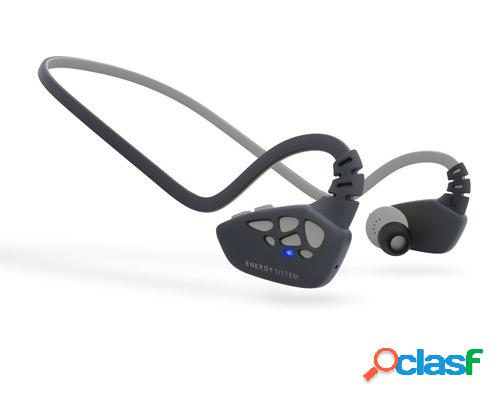 Energy sistem audífonos intrauriculares deportivos con micrófono sport 3, inalámbrico, bluetooth, gris
