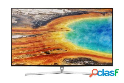 Samsung smart tv led mu9000 55'', 4k ultra hd, widescreen, plata
