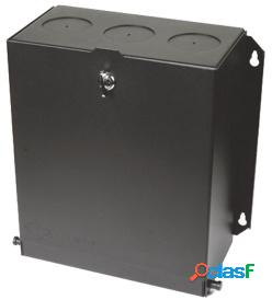 Siemon caja de parcheo 24 puertos, para conectores max/z-max/tera, negro