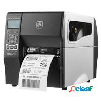 Zebra zt230, impresora de etiquetas, transferencia térmica, 300 x 300dpi, serial, usb, negro/blanco