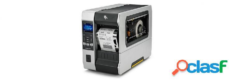 Zebra zt610, impresora de etiquetas, transferencia térmica, 203 x 203 dpi, inalámbrico, usb 2.0, negro/gris