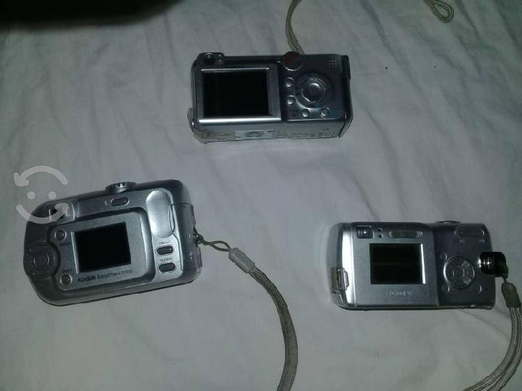 500 tres cámaras fotograficas