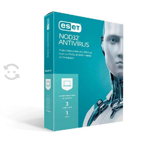 Antivirus iii pc laptop i año windows casa negocio