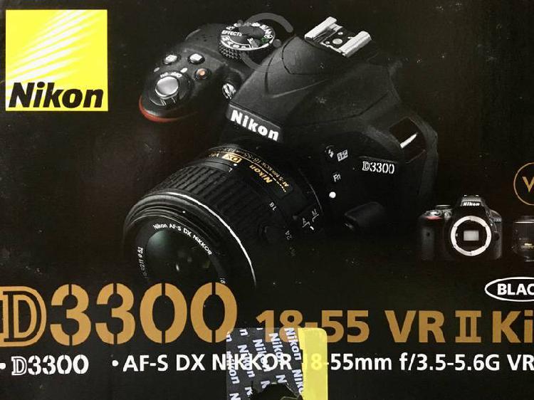 Camara digital nikon d3300