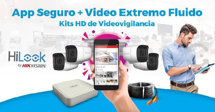 Cámaras seguridad cctv hd monitoreo remoto app