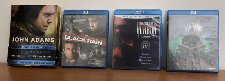 Colección blu-ray series tv y películas