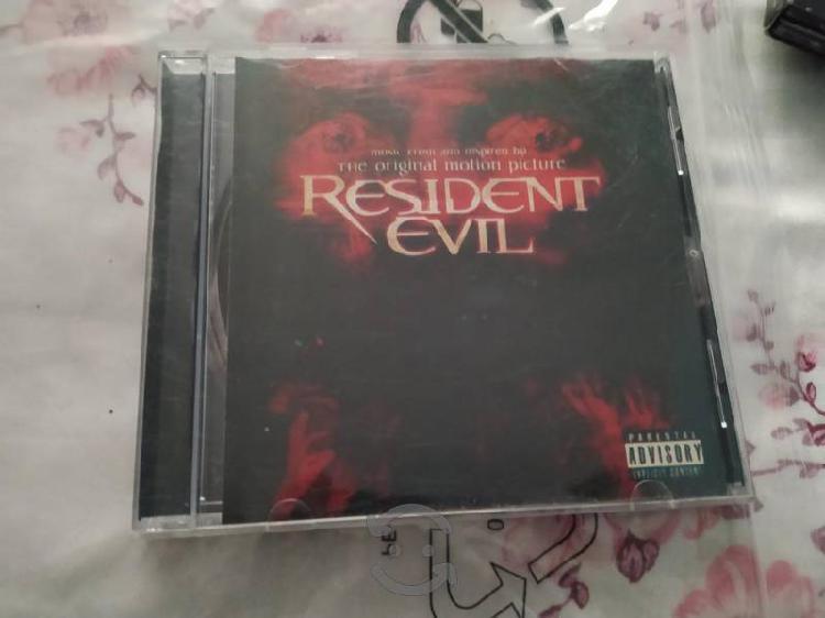 Disco música resident evil (original)
