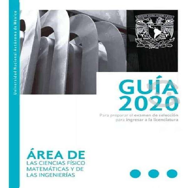 Guía unam 2020 área 1/2/3/4 digital pdf
