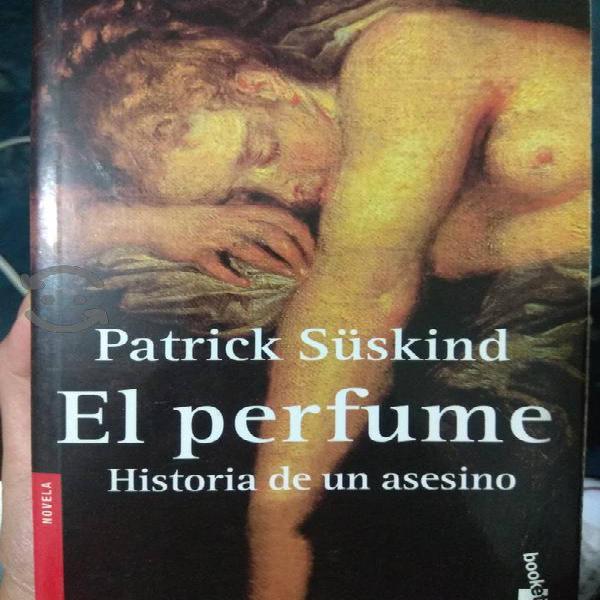 Libro el perfume, historia de un asesino de p. s.