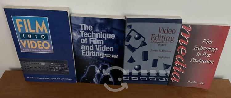 Libros de edición de cine y vídeo en inglés