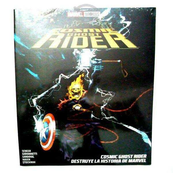 Marvel comics cosmic ghost rider destruye historia
