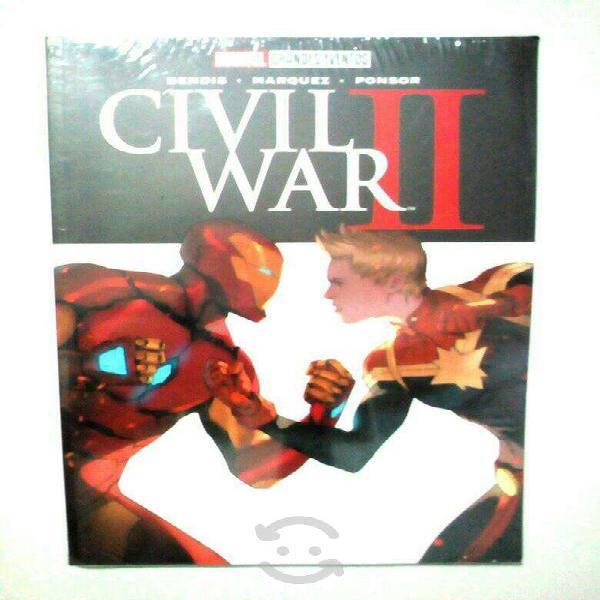 Marvel comics grandes eventos civil war 2 español