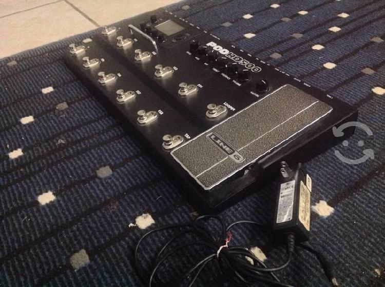 Pedalera multiefectos para guitarra línea 6