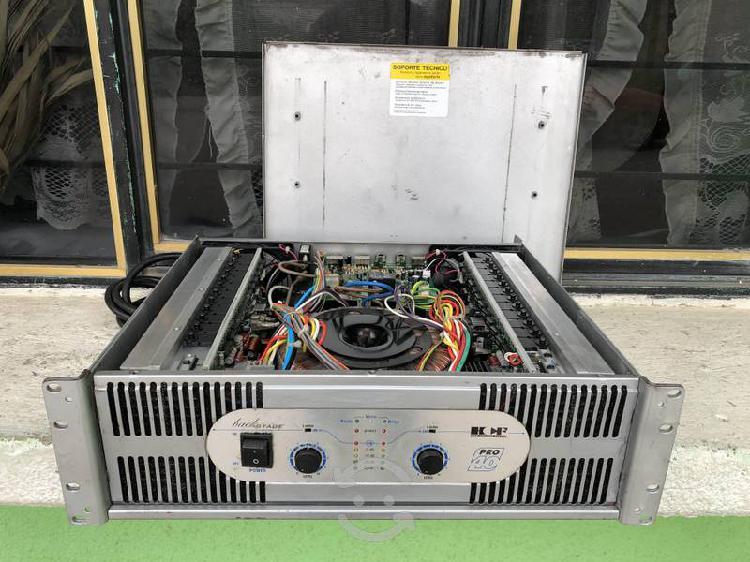 Poder amplificador backstage pro 40